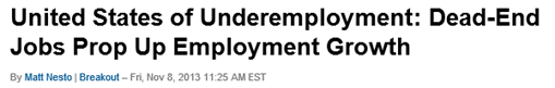 United States of Underemployment